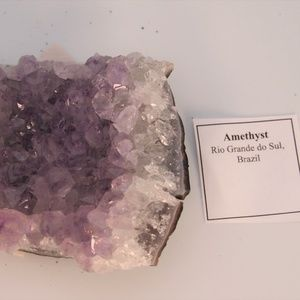 Accents - Amethyst Natural Crystal Cluster